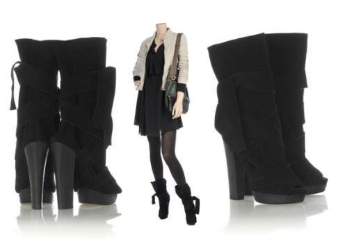 chloe boots, £385, net-a-porter
